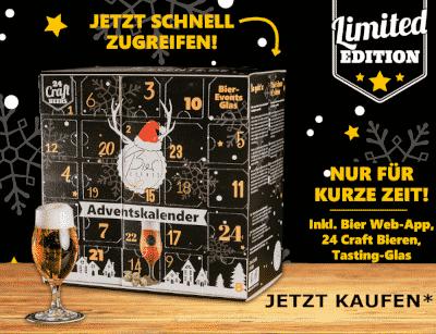 Bier Events - Craft Bier Adventskalender 2021- störer-kl